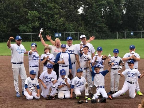 odiz frogs honkbal pupillen kampioen 2017